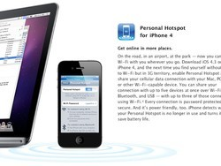 Personal Hotspot with iOS 4.3 coming to AT&T on March 11th