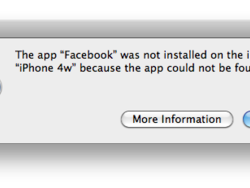 """Daily Tip: How to fix the """"app could not be found"""" error in iTunes"""