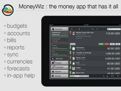 Manage your finances with MoneyWiz for iPad [Giveaway]