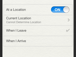 Daily Tip: How to create a location based Reminder in iOS 5