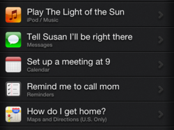 Daily Tip: Basic Siri commands