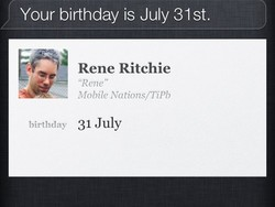 Daily Tip: How to quickly access birthdays with Siri