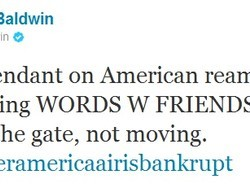 Alec Baldwin removed from American Airlines flight due to Words with Friends addiction