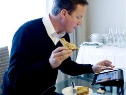 British Prime Minister to get his own iPad app to keep on top of Government business