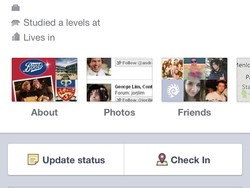 Facebook Timeline now working on mobile website