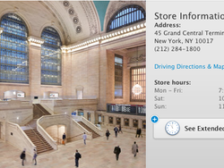 Grand Central Apple Store open for business