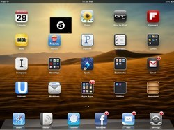 Bug: iOS 5 Newsstand icons out of place on iPhone and iPad Home screen