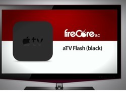 aTV Flash (black) Apple TV jailbreak package updated with subtitle downloads and more