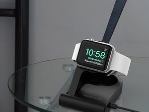 Display and charge your Apple Watch with this $20 compact charging stand