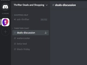 Join our Discord and talk about the newest deals, Black Friday, and more!
