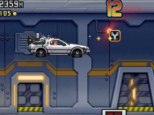 Jetpack Joyride adds new Back to the Future content