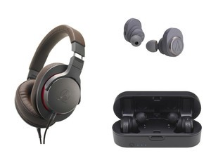 Audio Technica introduces its first truly wireless headphones