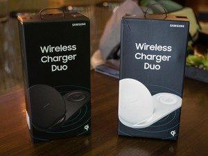 Can the Samsung Wireless Charger Duo charge the Apple Watch?