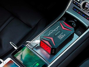 Add AC outlets to your vehicle with this 300W Power Inverter down to $32