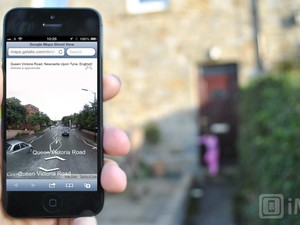 Google adds Street View to iPhone and iPad web app