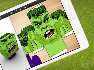 Foldify lets you craft folded paper art... right from your iPad
