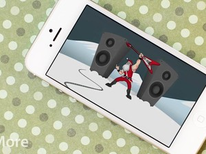 Rock out with Santa during the holidays with Santa Rockstar for iPhone