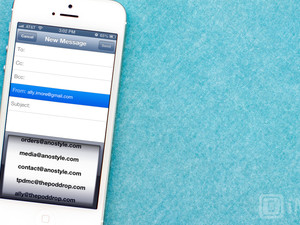 How to change email accounts when composing mail on your iPhone and iPad