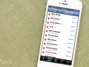 How to delete individual call records from Recent Calls on your iPhone
