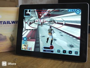 May the force be with you: Star Wars Knights of the Old Republic comes to the iPad