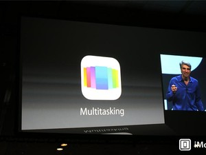 Multitasking updated in iOS 7 with new card-style interface