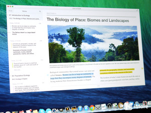iBooks in Mavericks