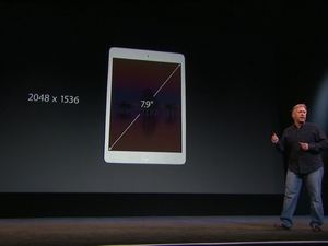 Apple announces retina iPad mini, starting at $399