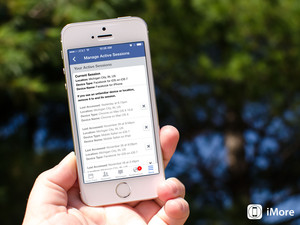 Think someone is signing into your Facebook account? Here's how to find out with Facebook for iOS!