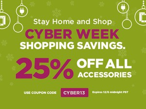 The Cyber WEEK Savings continue at the iMore store - Save 25% on ALL iPhone and iPad accessories until EOD Friday!
