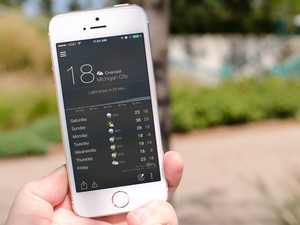 BeWeather for iPhone is here, BlackBerry switchers rejoice!