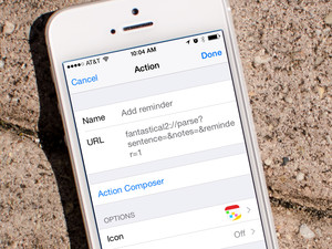 How to create advanced actions in Launch Center Pro for iPhone and iPad