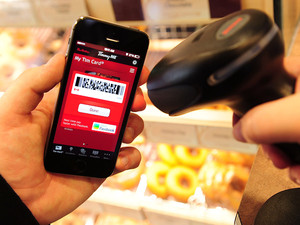 Tim Hortons launches new mobile payment service