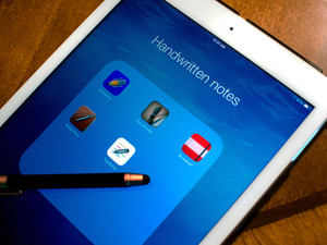 Best handwriting note apps for iPad