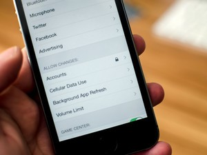 How to restrict email account, cellular data, app refresh, and volume changes with parental controls for iPhone or iPad