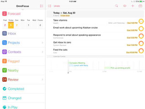 OmniFocus 2 arrives on iPad with new features in tow