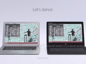 It's MacBook Air vs Lenovo Yoga this time around