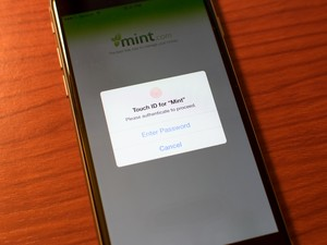 Mint adds Touch ID support, new way to give you the latest on your money