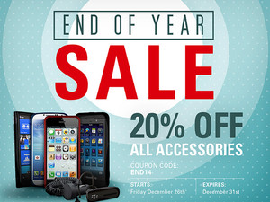 20% off iPhone and iPad Accessories