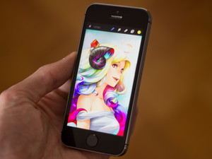 Procreate is now available on iPhone
