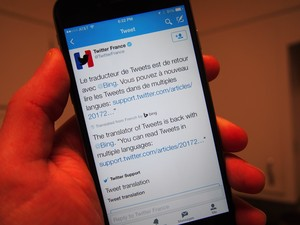 Twitter launches tweet translations for mobile apps and web