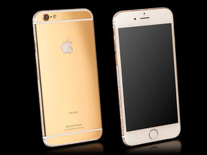 $3.5 million for a diamond-encrusted gold iPhone 6? Why not?