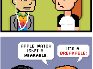 i worry about apple watch. wearables are still such an unproven market. apple watch isnt a wearable. its a breakable!