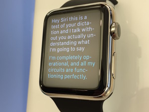 Here's what Siri can do on your Apple Watch