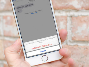 How to report iMessage spam in iOS 8.3