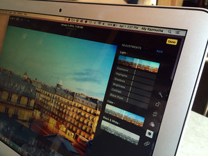 How to adjust light, color, and more in Photos for Mac
