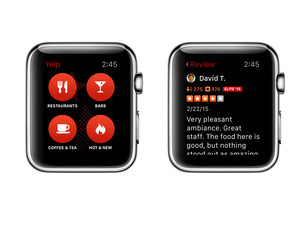 Yelp picks up Apple Watch support in latest update