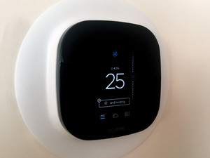 Installing and setting up the ecobee4 wifi thermostat