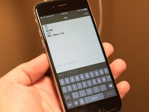 Ivy is Google's experimental calculator for iPhone and iPad