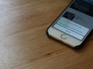 How to view Safari sites without content blockers