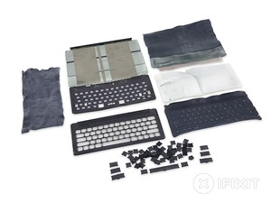 iFixit examines the iPad Pro's new Smart Keyboard cover